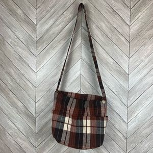 Handbags - Plaid crossbody purse